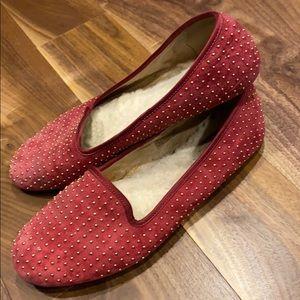 Ugg Australia studded smoking slippers